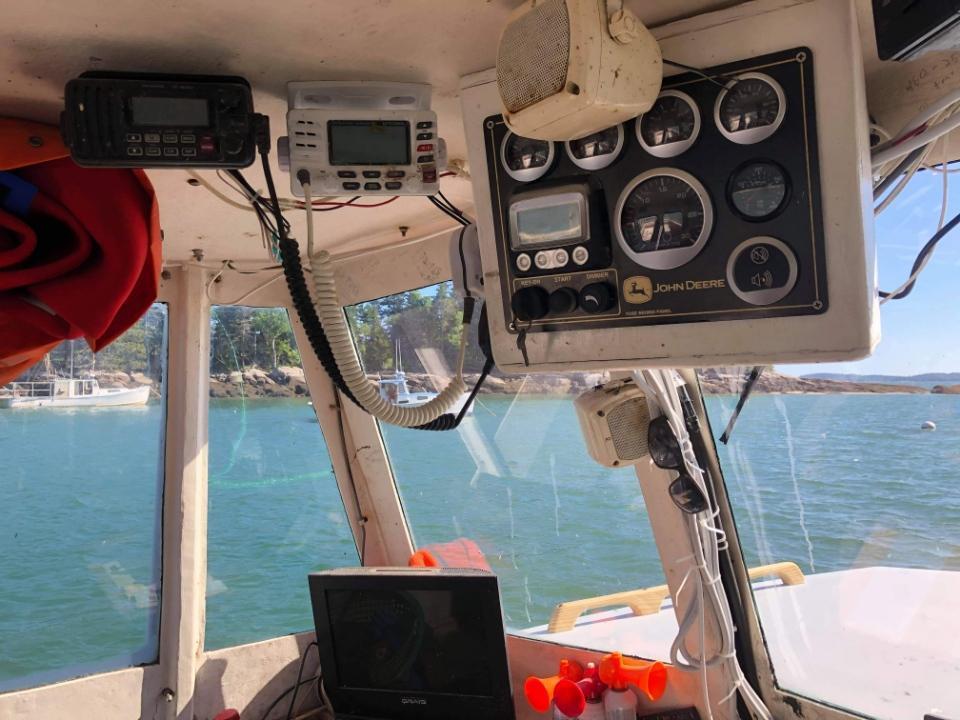 36' BHM Lobster Boat 1992 - John Deere 500 HP For Sale