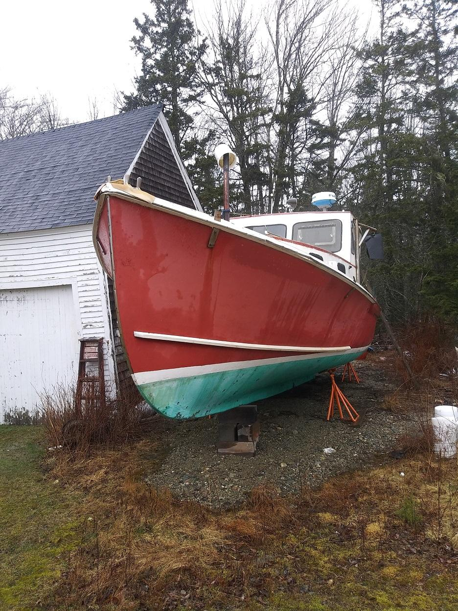 34' Duffy Lobster Boat - Cummins 210 HP For Sale