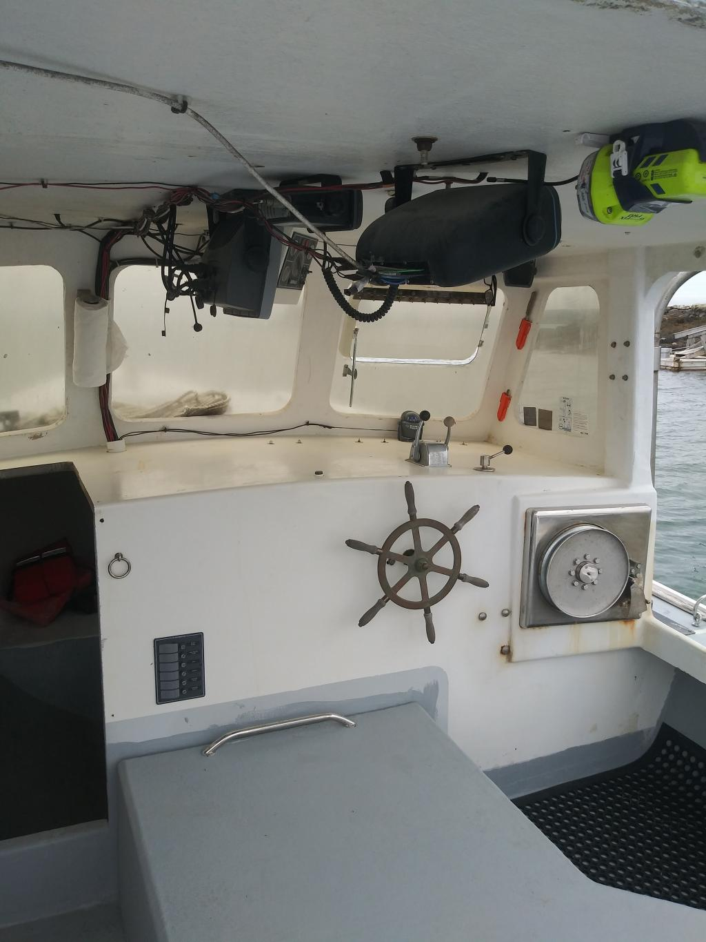 30' South Shore Lobster Boat 2008 - Cat 205 HP For Sale
