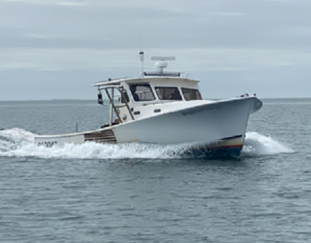 31' JC Lobster Boat 1978 - Cat 315 HP For Sale
