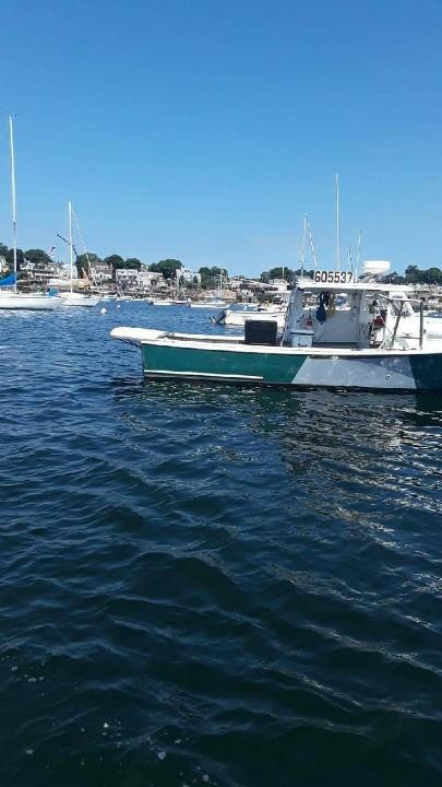 31' JC Lobster Boat 1979 - Cat 210 HP For Sale