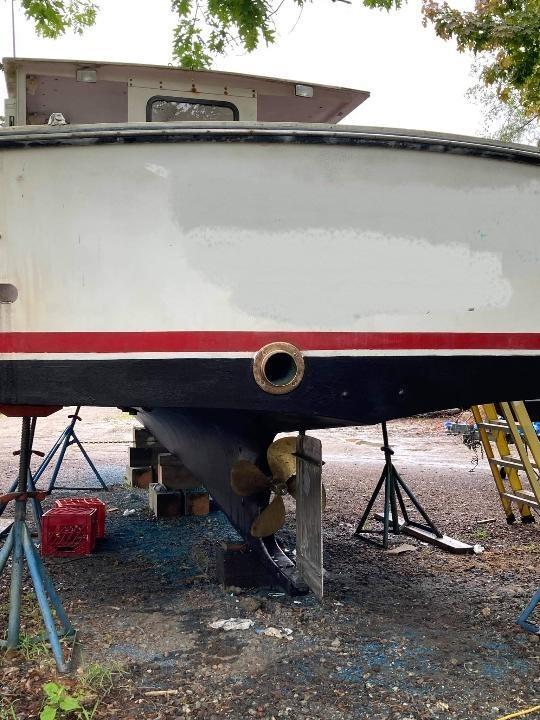 31' JC Lobster Boat 1985 - John Deere 225 HP For Sale