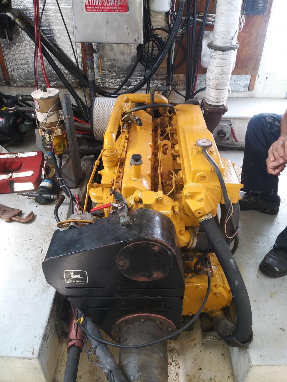 35' Duffy Lobster Boat 1997 - John Deere 220 HP For Sale