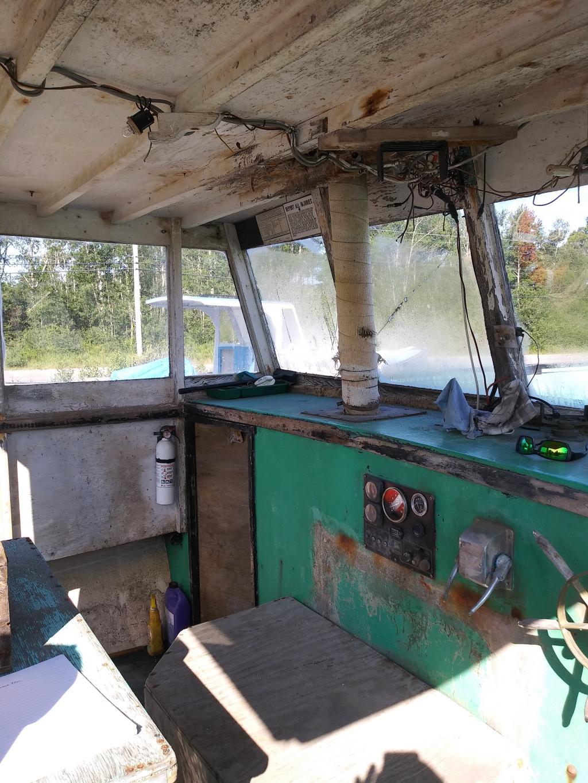 35' Duffy Lobster Boat 1985 - John Deere 220 HP For Sale