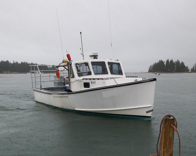 32' H&H Lobster Boat 1992 - Cummins 305 HP For Sale