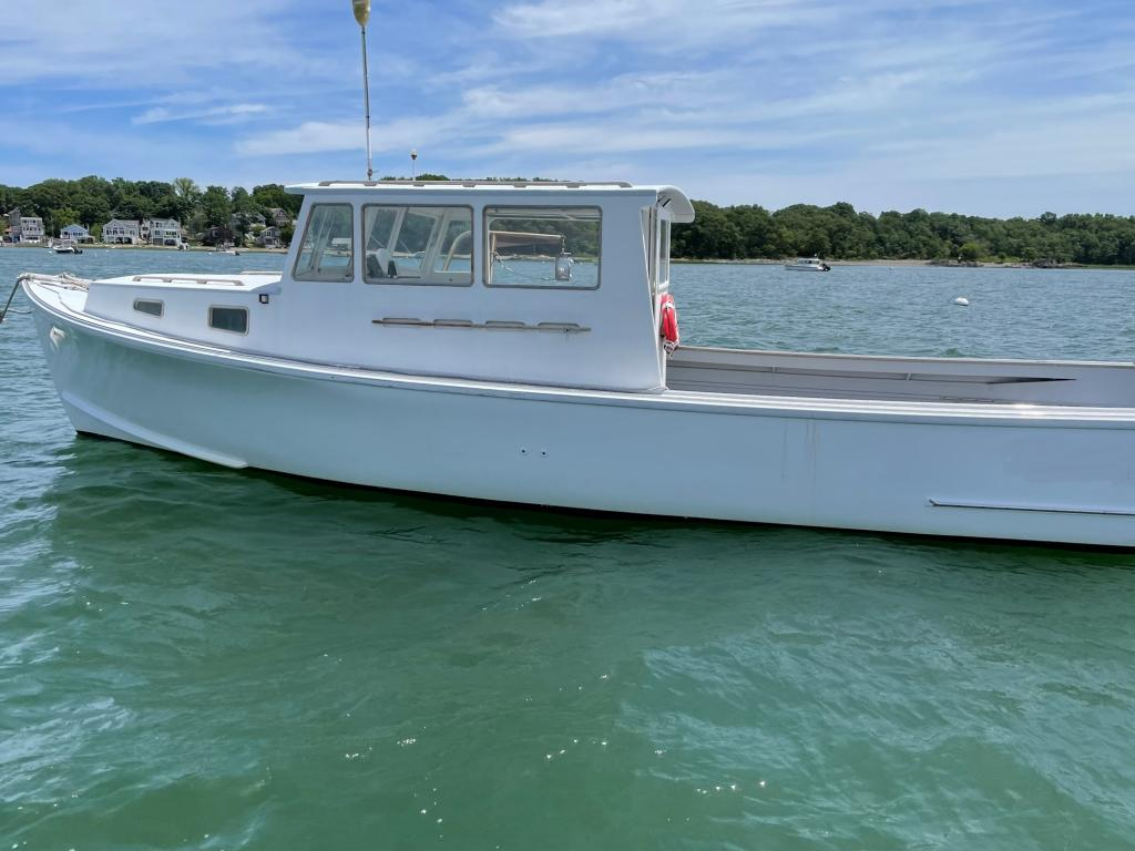 35' Crow Point Lobster Boat 2003 - John Deere 375 HP For Sale
