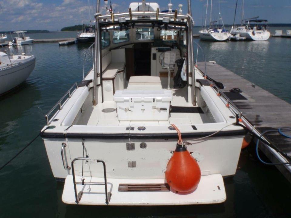 28' Cape Dory Downeast Sportfish 1988 - Yanmar 315 HP For Sale