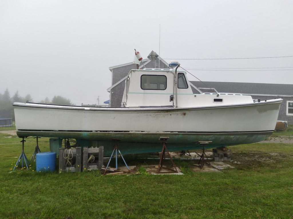 34' Webbers Cove Lobster Boat 1969 - Ford Lehman 135 HP For Sale