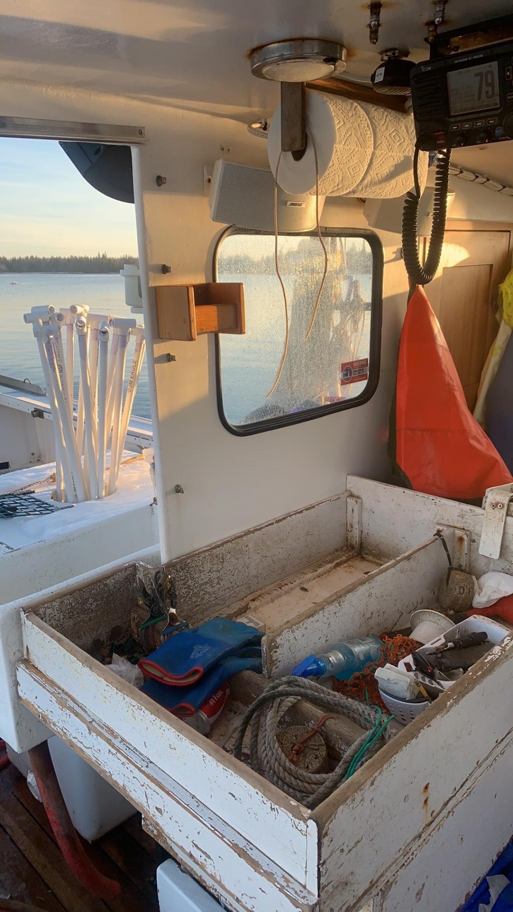 35' Osmond Beal Lobster Boat 1995 - John Deere 300 HP For Sale