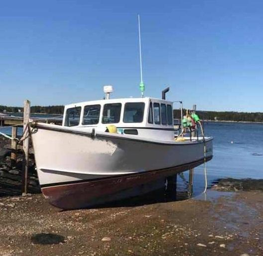 34' H&H Lobster Boat 2002 - John Deere 330 HP For Sale