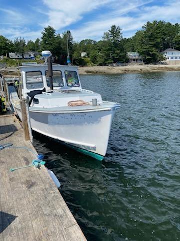 34' Webbers Cove Lobster Boat 1971 - Cummins 210 HP For Sale