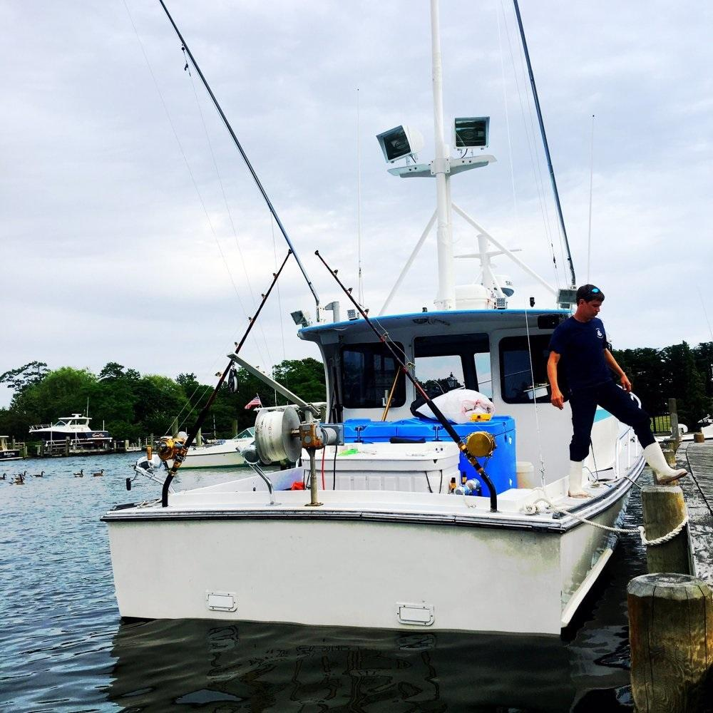 35' Young Brothers Lobster Boat 1999 - Cat 420 HP For Sale