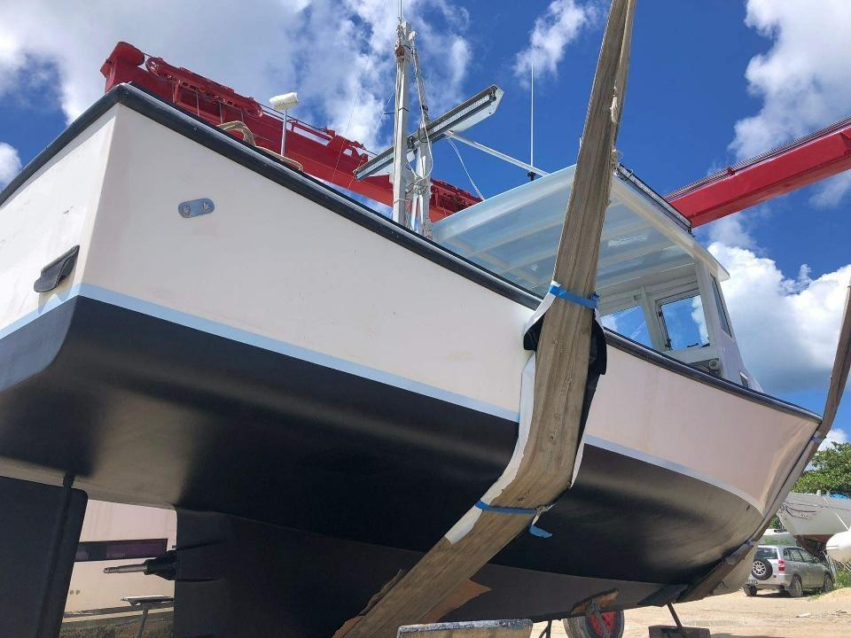 32' Mitchell Cove Lobster Boat 1992 - Cummins 380 HP For Sale