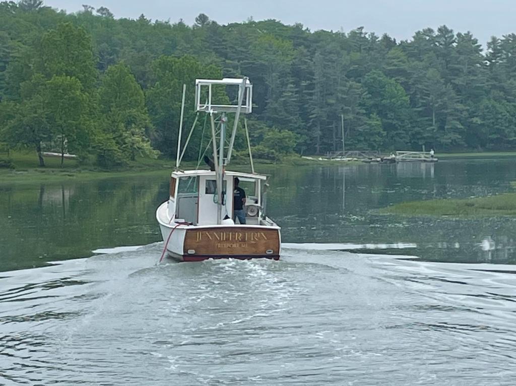 35' Vinnie Cavanaugh Lobster Picnic Boat 1971 For Sale