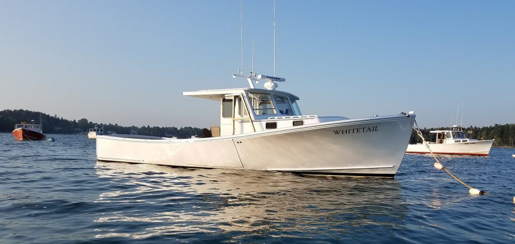 38' Lowell Brothers Lobster Boat For Sale $315,000.