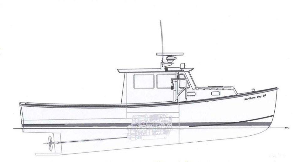 38 Northern Bay Boats – New Hulls & Molded Tops – Kit Boats